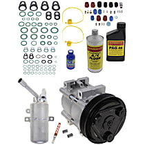 Item Auto A/C Compressor Kit - REPF191159 - Includes New Compressor, w/6-Groove Pulley, 2.0L, Twin-Cam engine