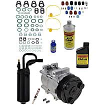 Item Auto A/C Compressor Kit - REPF191172 - Includes New Compressor, w/6-Groove Pulley, 2.3L