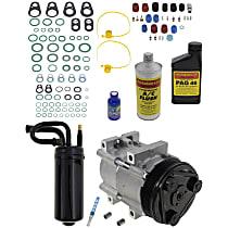Item Auto A/C Compressor Kit - REPF191174 - Includes New Compressor, w/6-Groove Pulley, 3.0L/4.0L