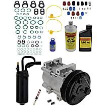 Item Auto A/C Compressor Kit - REPF191180 - Includes New Compressor, w/6-Groove Pulley, 2.5L