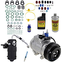 Item Auto A/C Compressor Kit - REPFD191118 - Includes New Compressor, w/6-Groove Pulley, 4.2L