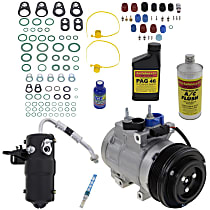 Item Auto A/C Compressor Kit - REPFD191119 - Includes New Compressor, w/6-Groove Pulley, 4.6L/5.4L, From 12/5/05
