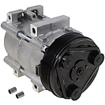 Item Auto A/C Compressor - REPFD191147 - Sold Individually, New, w/6-Groove Pulley, 4cyl