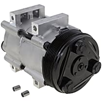 Item Auto A/C Compressor - REPFD191161 - Sold Individually, New, w/6-Groove Pulley, 2.0L
