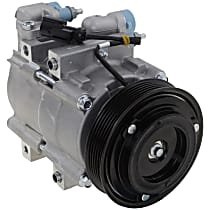 Item Auto A/C Compressor - REPFD191165 - Sold Individually, New, w/6-Groove Pulley, 2.3L