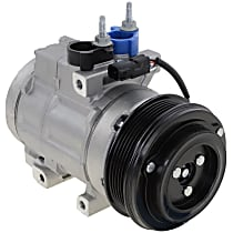 Item Auto A/C Compressor - REPFD191169 - Sold Individually, New, w/6-Groove Pulley, 4.6L, w/Rear Air