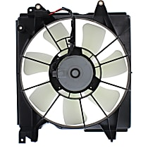 Item Auto Radiator Fan Assembly, Driver Side, Hybrid Models
