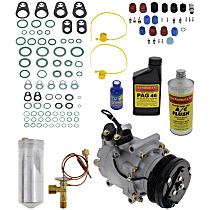 Item Auto A/C Compressor Kit - REPH191119 - Includes New Compressor, w/4-Groove Pulley