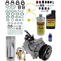 Item Auto A/C Compressor Kit - REPH191121 - Includes New Compressor, w/4-Groove Pulley