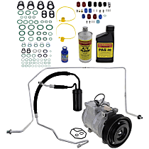 Item Auto A/C Compressor Kit - REPJ191105 - Includes New Compressor, w/7-Groove Pulley, 5.2L/5.9L
