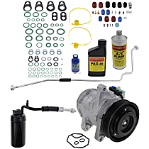 Item Auto A/C Compressor Kit - REPJ191110 - Includes New Compressor, w/6-Groove Pulley, 4.0L