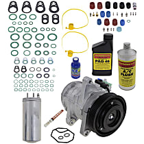 Item Auto A/C Compressor Kit - REPJ191112 - Includes New Compressor, w/6-Groove Pulley, 4.0L