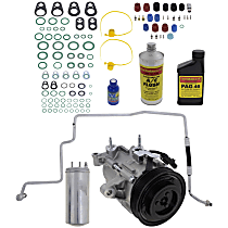 Item Auto A/C Compressor Kit - REPJ191119 - Includes New Compressor, w/6-Groove Pulley, 3.7L