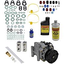 Item Auto A/C Compressor Kit - REPJ191121 - Includes New Compressor, w/6-Groove Pulley, 4.2L