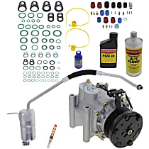 Item Auto A/C Compressor Kit - REPJ191122 - Includes New Compressor, w/6-Groove Pulley, Until Chassis# E58862