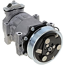 Item Auto A/C Compressor - REPJ191129 - Sold Individually, New, w/6-Groove Pulley, 2.5L/4.0L
