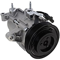Item Auto A/C Compressor - REPJ191130 - Sold Individually, New, w/6-Groove Pulley, 3.7L