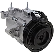 Item Auto A/C Compressor - REPJ191131 - Sold Individually, New, w/6-Groove Pulley, 3.7L