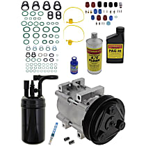 Item Auto A/C Compressor Kit - REPM191119 - Includes New Compressor, w/6-Groove Pulley, 2.3L, w/Factory R-12 System