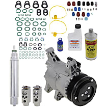 Item Auto A/C Compressor Kit - REPM191134 - Includes New Compressor, w/6-Groove Pulley
