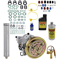 Item Auto A/C Compressor Kit - REPN191122 - Includes New Compressor, w/4-Groove Pulley, 3.3L, Non-Supercharged