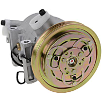 Item Auto A/C Compressor - REPN191133 - Sold Individually, New, w/4-Groove Pulley, 3.3L, Non-Supercharged, Piston-type