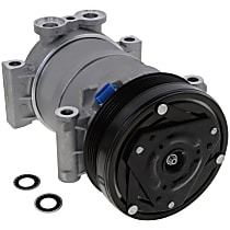 Item Auto A/C Compressor - REPO191110 - Sold Individually, New, w/6-Groove Pulley, OE-style