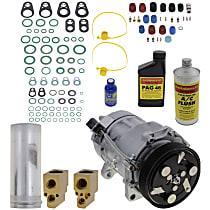 Item Auto A/C Compressor Kit - REPV191104 - Includes New Compressor, w/6-Groove Pulley, 1.8L/1.9L/2.0L