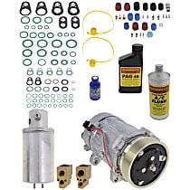 Item Auto A/C Compressor Kit - REPV191107 - Includes New Compressor, w/6-Groove Pulley, 1.8L/1.9L/2.0L
