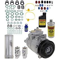 Item Auto A/C Compressor Kit - REPV191111 - Includes New Compressor, w/6-Groove Pulley, 2.0L