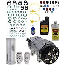 Item Auto A/C Compressor Kit - REPV191113 - Includes New Compressor, w/6-Groove Pulley, 1.8L/1.9L/2.0L