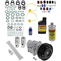 Item Auto A/C Compressor Kit - REPV191115 - Includes New Compressor, w/10-Groove Pulley, 2.5L