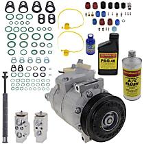 Item Auto A/C Compressor Kit - REPV191117 - Includes New Compressor, w/6-Groove Pulley, 2.0L