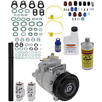Item Auto A/C Compressor Kit - REPV191123 - Includes New Compressor, w/6-Groove Pulley, 2.0L