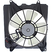 OE Replacement Radiator Fan - Fits 2.4L, Driver Side