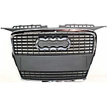 Grille Assembly - Chrome Shell with Paintable Insert