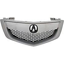 Grille Assembly - Painted Silver Shell and Insert, with Technology Package