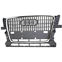 Grille Assembly - Primed Gray Shell and Insert, 2.0 Liter Engine