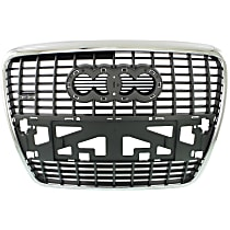 Grille Assembly - Silver Black Shell and Insert