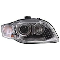 HID (Xenon) Headlight, Non-AFS (Adaptive Front-lighting System), Passenger Side, w/o Bulbs & Ballast
