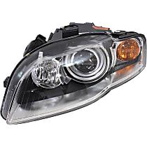 HID (Xenon) Headlight, Non-AFS (Adaptive Front-lighting System), Driver Side, w/o Bulbs & Ballast