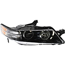 Passenger Side Headlight, Without bulb(s) - Type-S Model