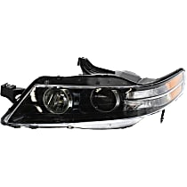Driver Side Headlight, Without bulb(s) - Type-S Model