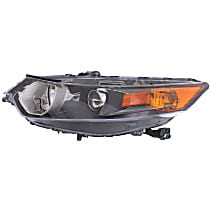 Driver Side HID/Xenon Headlight, Without Headlight Bulb; With high beam and signal light bulb(s)