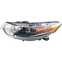 CAPA Certified Driver Side HID/Xenon Headlight, Without Headlight Bulb; With high beam and signal light bulb(s)