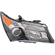Passenger Side Halogen Headlight, Without bulb(s) - Models With Advance Package