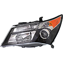 Driver Side Halogen Headlight, Without bulb(s) - Models With Advance Package