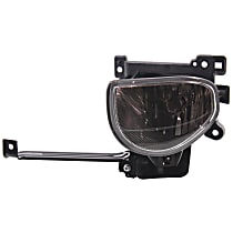 Fog Light Assembly - Driver Side, CAPA CERTIFIED
