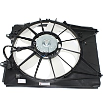 Radiator Fan Assembly, Driver Side