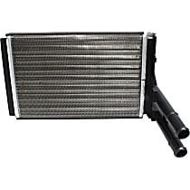 Heater Core 9.19 x 6.19 x 1.57 in. Core, 0.81 in. Inlet, 0.81 in. Outlet